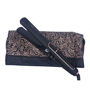 H2D Straightener Black with Rose Gold
