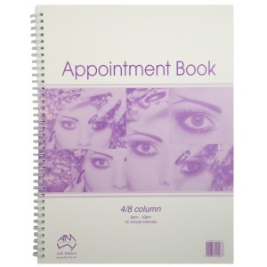Appointment Book 4 Column