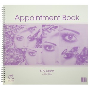 Appointment Book 6 Column