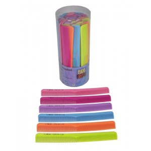 Euro Stil Cutting Comb - Assorted Colours