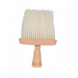 Neck Brush with Wooden Handle