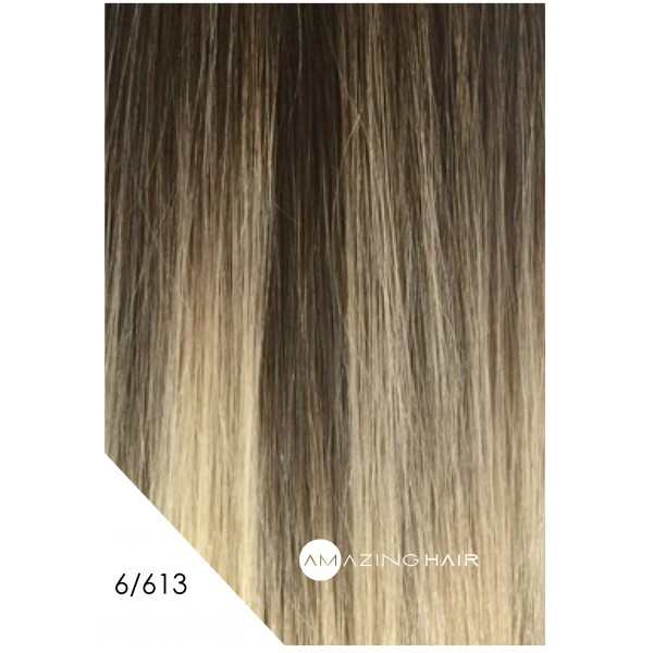Amazing Hair Tape Extensions Light Brownblonde 6613 20 Pkt 10