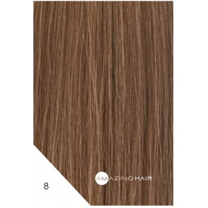 "Amazing Hair I Tip Dark Caramel 20"" Pkt 20"