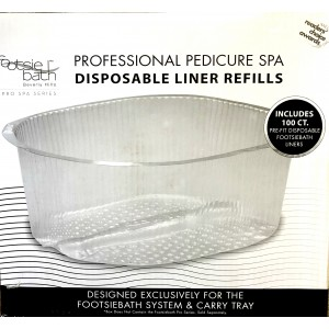 Footsie Professional Disposable Liners Pkt 100