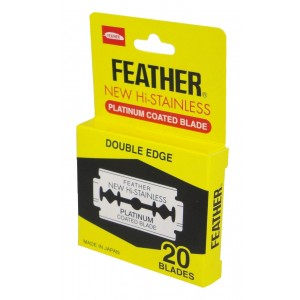 Blades Razor Feather Double Edge Pkt 20