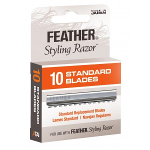 Blades Styling Feather Razor Pkt 10