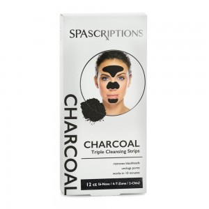 SS Charcoal Cleansing Strips Pkt 12