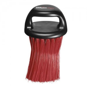 BabylissPRO Knuckle Neck Brush - Red Bristles