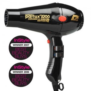 Parlux 3200 Ceramic & Ionic Edition Hair Dryer - Black