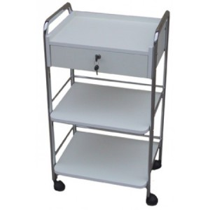 Joiken Beauty Trolley 1 Drawer 2 Tier