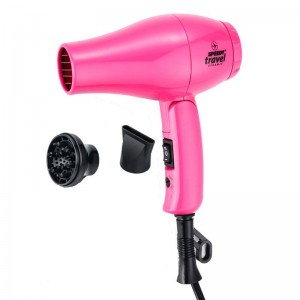 Speedy Travel Professional Hairdryer - PINK