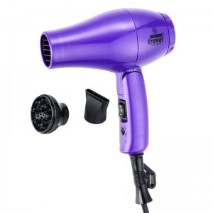 Speedy Travel Professional Hairdryer - PURPLE