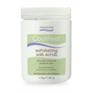 Natural Look Exfoliationg Salt Scrub 1.7g