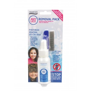 Natural Look Anti Lice Removal Pack