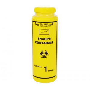 Sharps Container1.0Lt