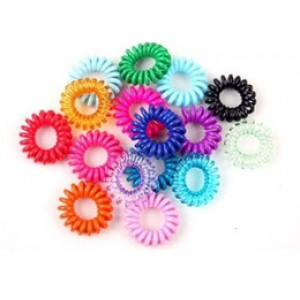 EZ Bobble Hair Ties 3Pkt