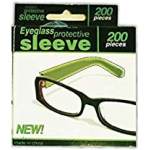 Eyeglass Protection Sleeve Pkt 200
