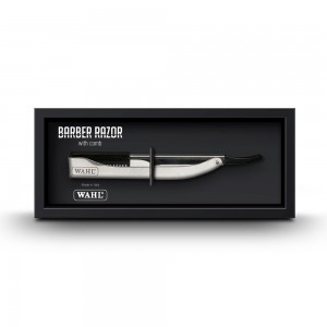 Wahl Barber Razor Stainless Steel Handle
