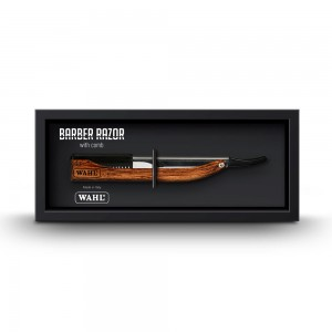 Wahl Barber Razor Wood Grain Handle
