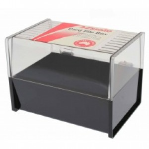 Salon Record Card Holder + Index